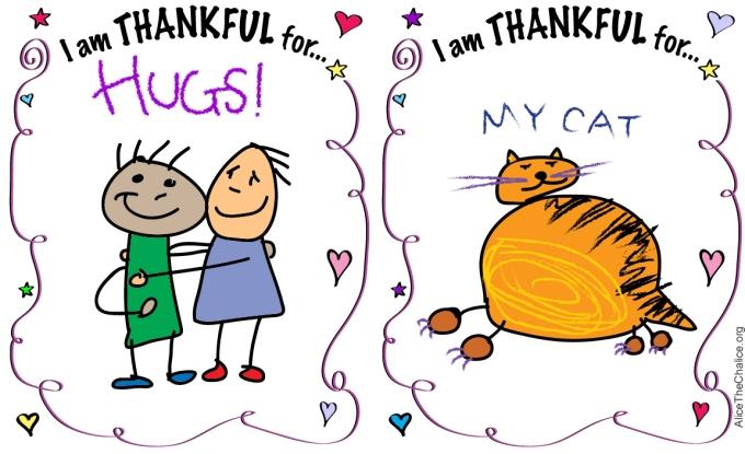 Thankful Worksheet Examples